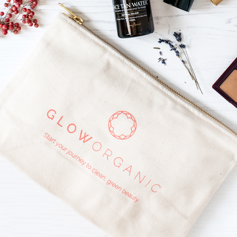 Glow-Organic-Branded-Cotton-Canvas-Makeup-Bag