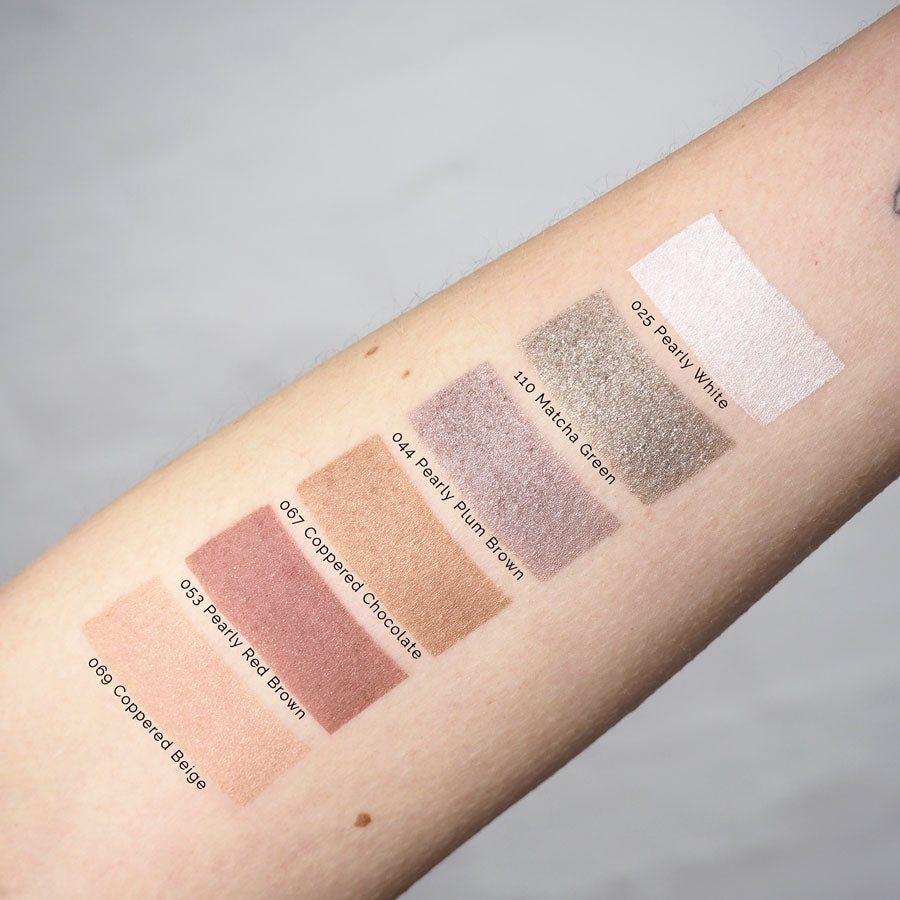 Couleur-Caramel-Pearly-Eyeshadow-Swatches