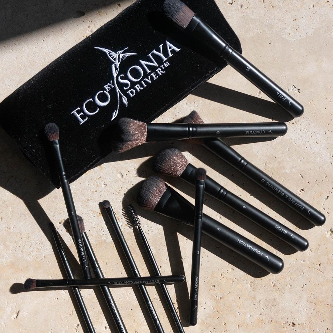 Eco by Sonya - Vegan Brush Collection
