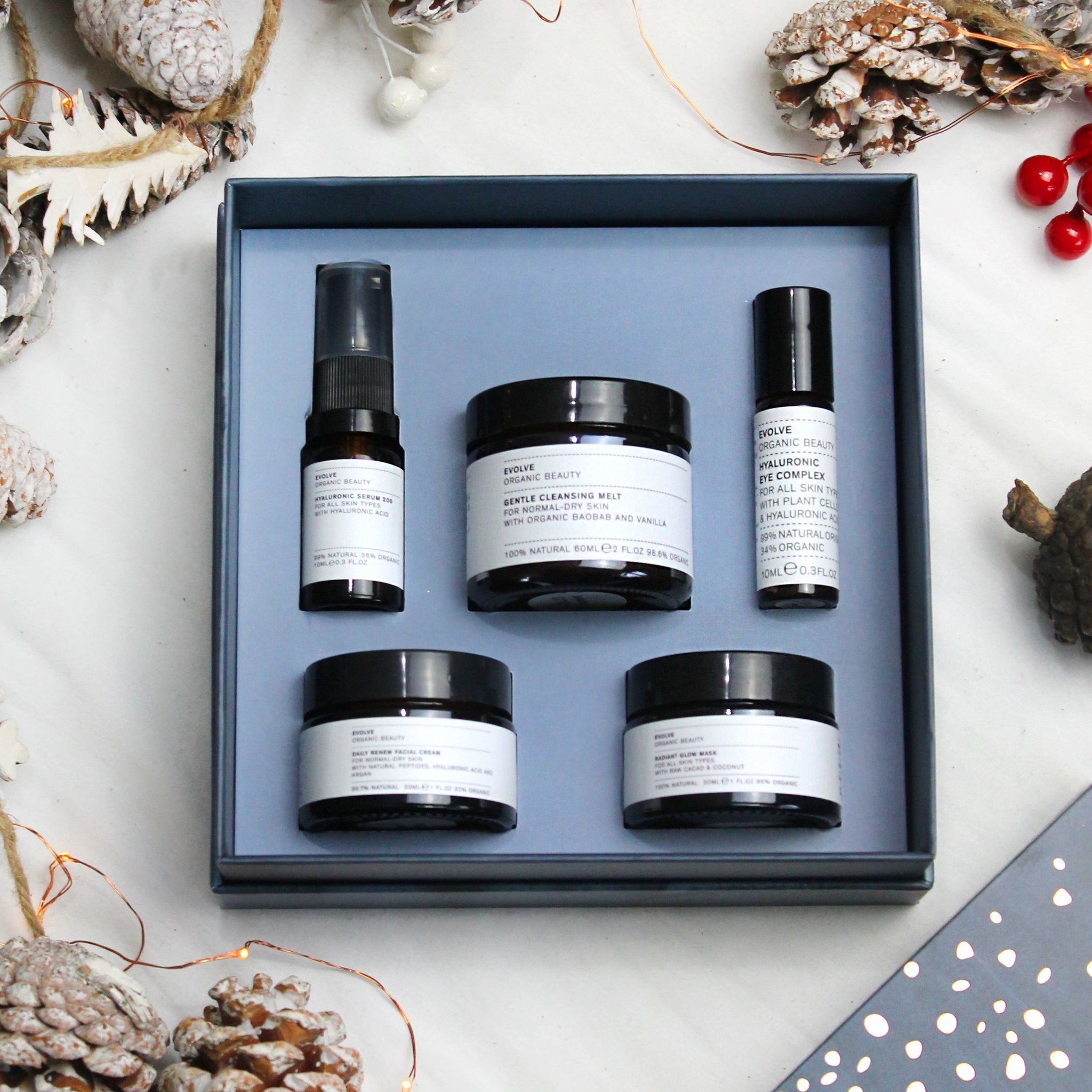 Evolve Beauty - Get up and Glow Facial in a Box Gift Set