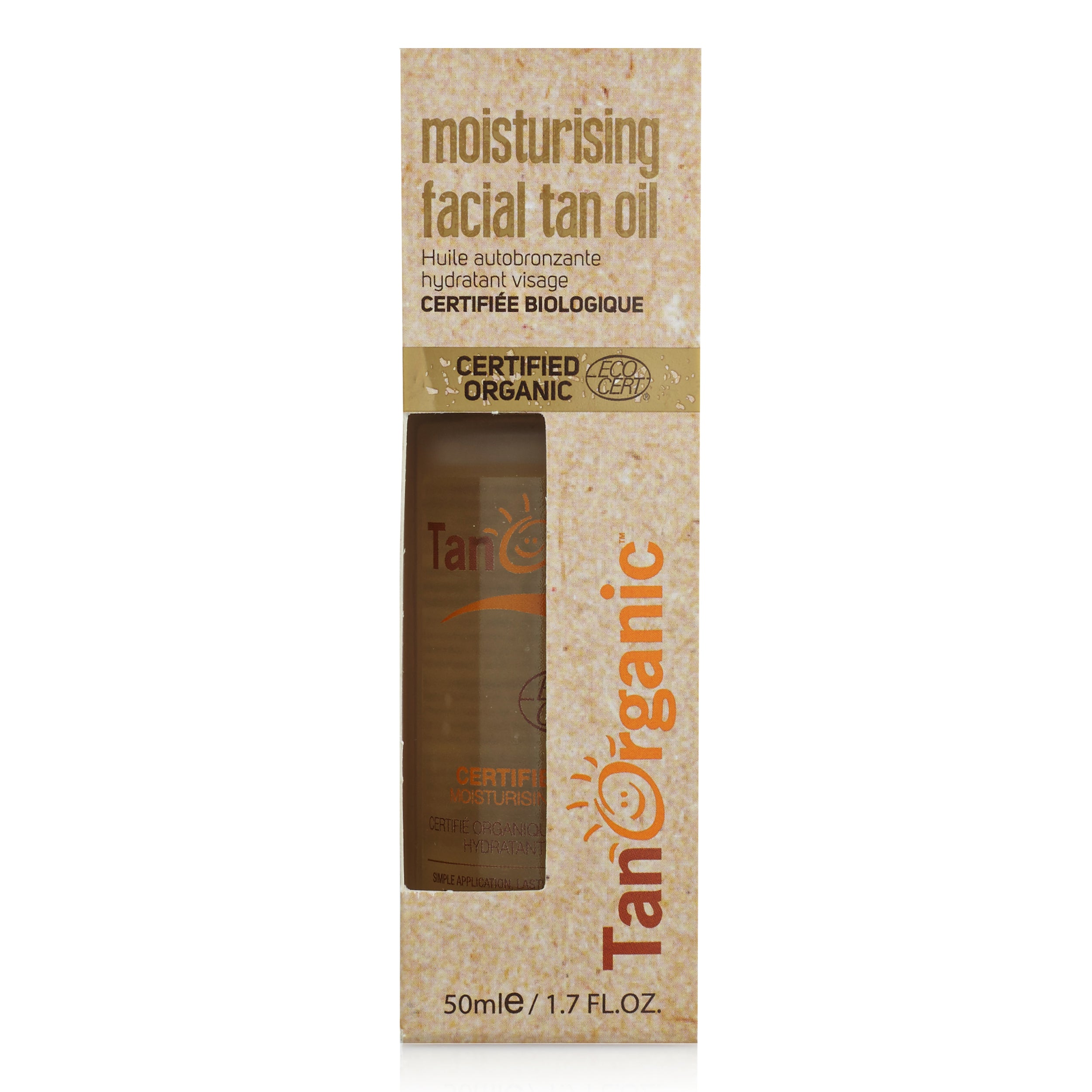 Tan Organic - Facial Tan Oil 50ml