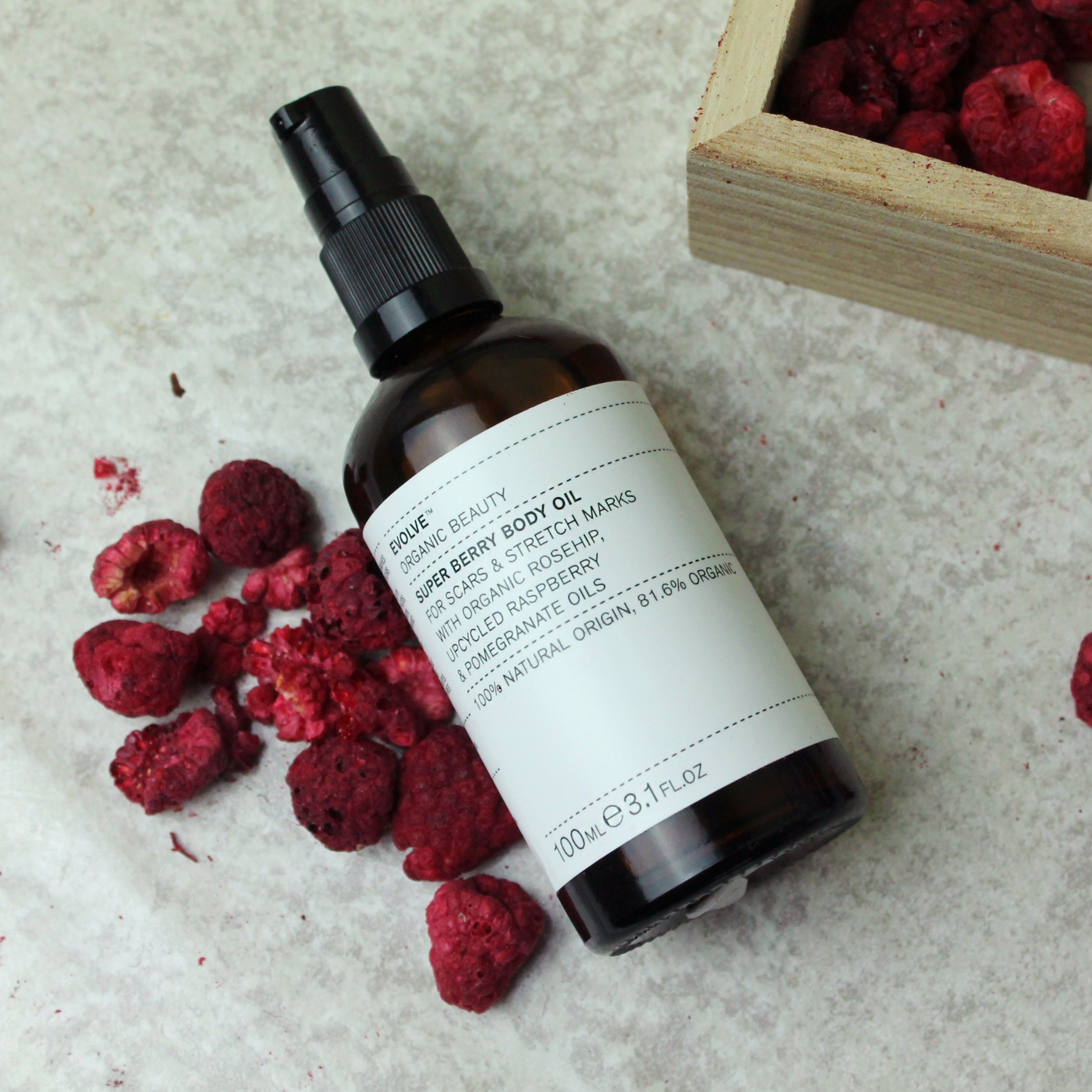 Evolve Beauty - Super Berry Body Oil