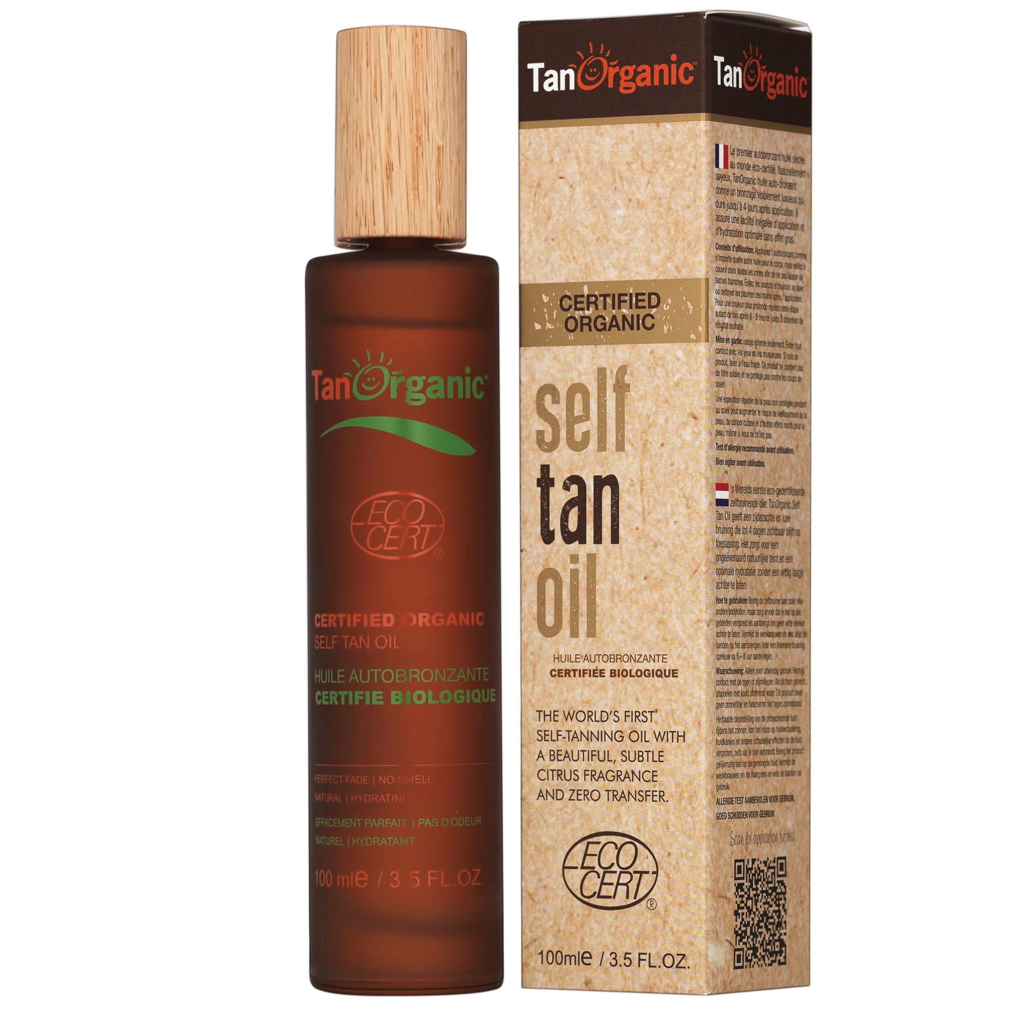 Tan Organic - Self Tan Oil 100ml