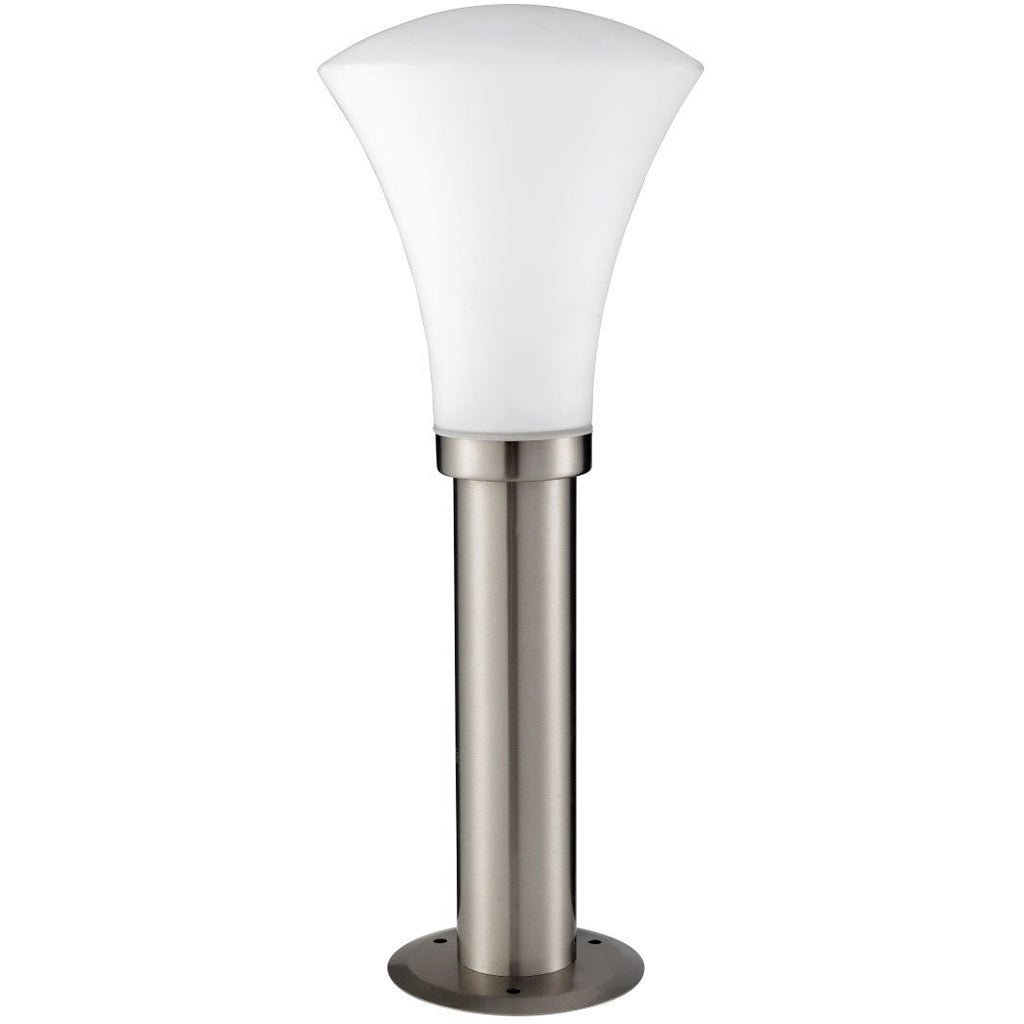 Searchlight Stainless Steel Cone Bollard Post Outdoor Garden Use Over 50% off, [product_variation] - Freedom Homestore