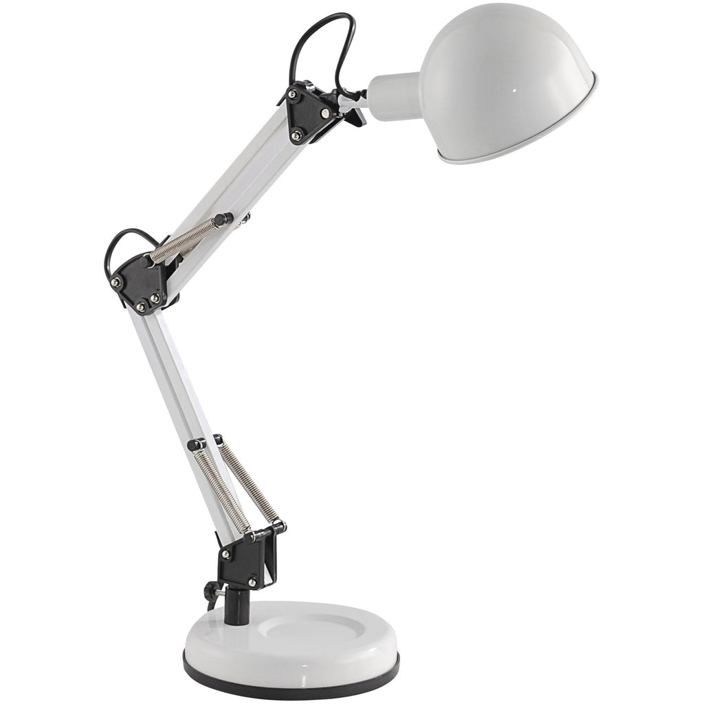 Adjustable Table Lamp Task Light, Spring Loaded, Tilt & Turn., [product_variation] - Freedom Homestore