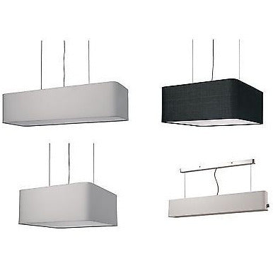 *Clearance* Sompex 'Linea Big' Range of Ceiling Pendants Lamp Shade Lights