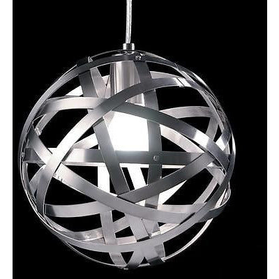 Sompex  Futuristic Range of Bauble Ceiling Pendant Lights in White & Silver, [product_variation] - Freedom Homestore
