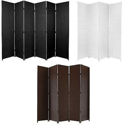 ENTWINE SQ Hand Made Wicker Room Divider Privacy Screen Colour