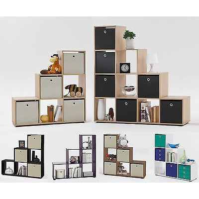 'Mega' Range Floor Standing Pyramid / Triangle Display Room Divider Shelf Units.