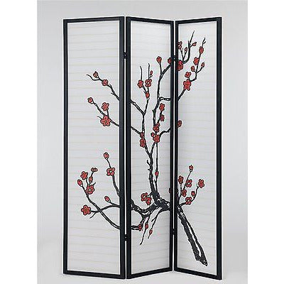 Tokyo Cherry Blossom. Japan Style Room Divider Rice Paper Partition Screen
