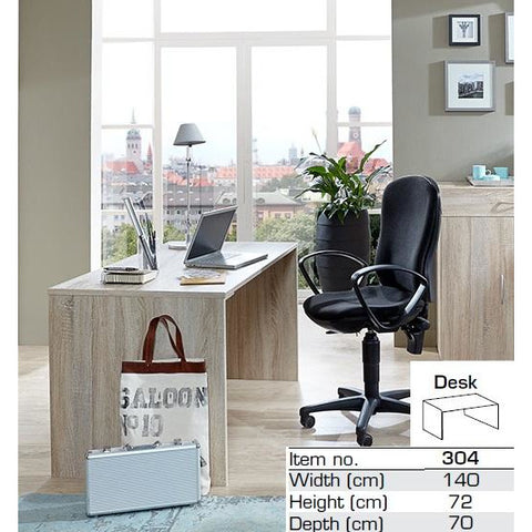 "Qmax ""Any-Room"" Range, Matching PC Desk / Dressing Table. White or Washed Oak., [product_variation] - Freedom Homestore"