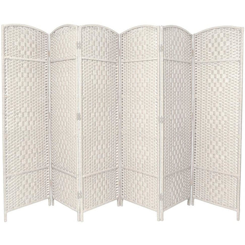 Hand Made Wicker Room Divider Choice of Size / Colours, [product_variation] - Freedom Homestore