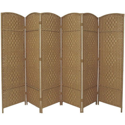 Hand Made Wicker Room Divider Choice of Size / Colours