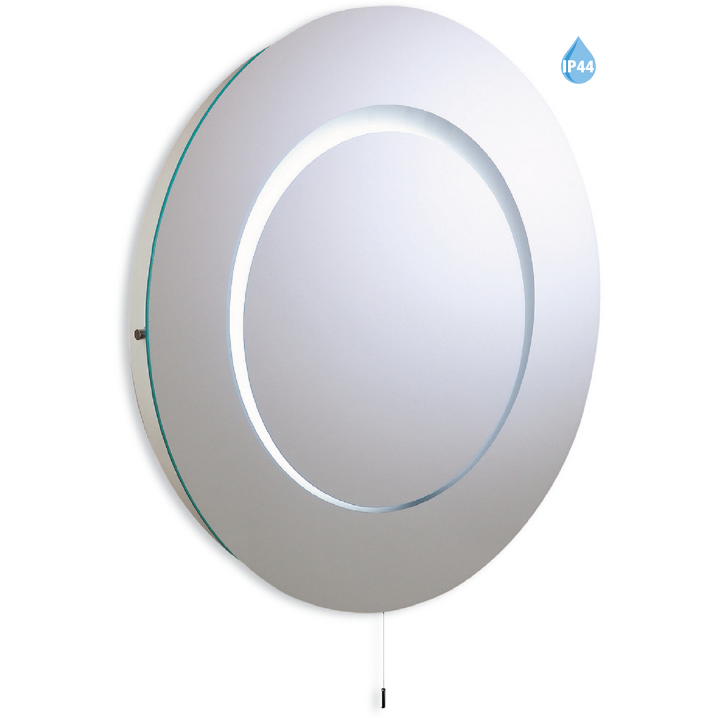*CLEARANCE* Firstlight Eclipse 60cm Round IP44 Bathroom Mirror Light 3341, [product_variation] - Freedom Homestore