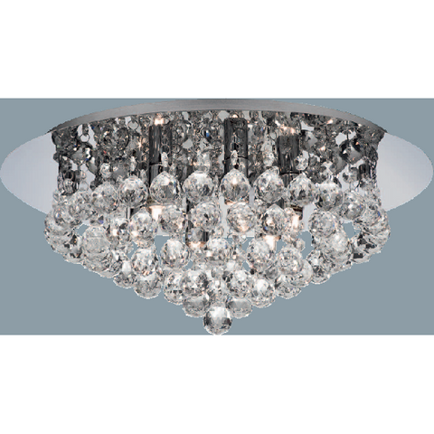 "Marco Tielle Crystal ""Hannah"" Six Light Ceiling Chandelier, [product_variation] - Freedom Homestore"