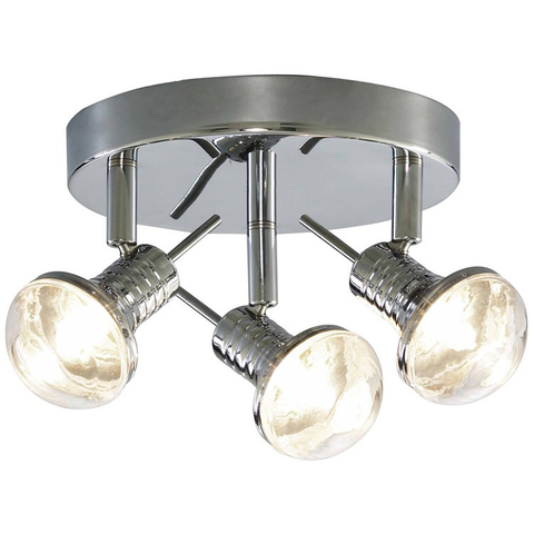 Searchlight Neo/BigBulb Chrome Ceiling SpotLight - 3 Or 4 Light, [product_variation] - Freedom Homestore