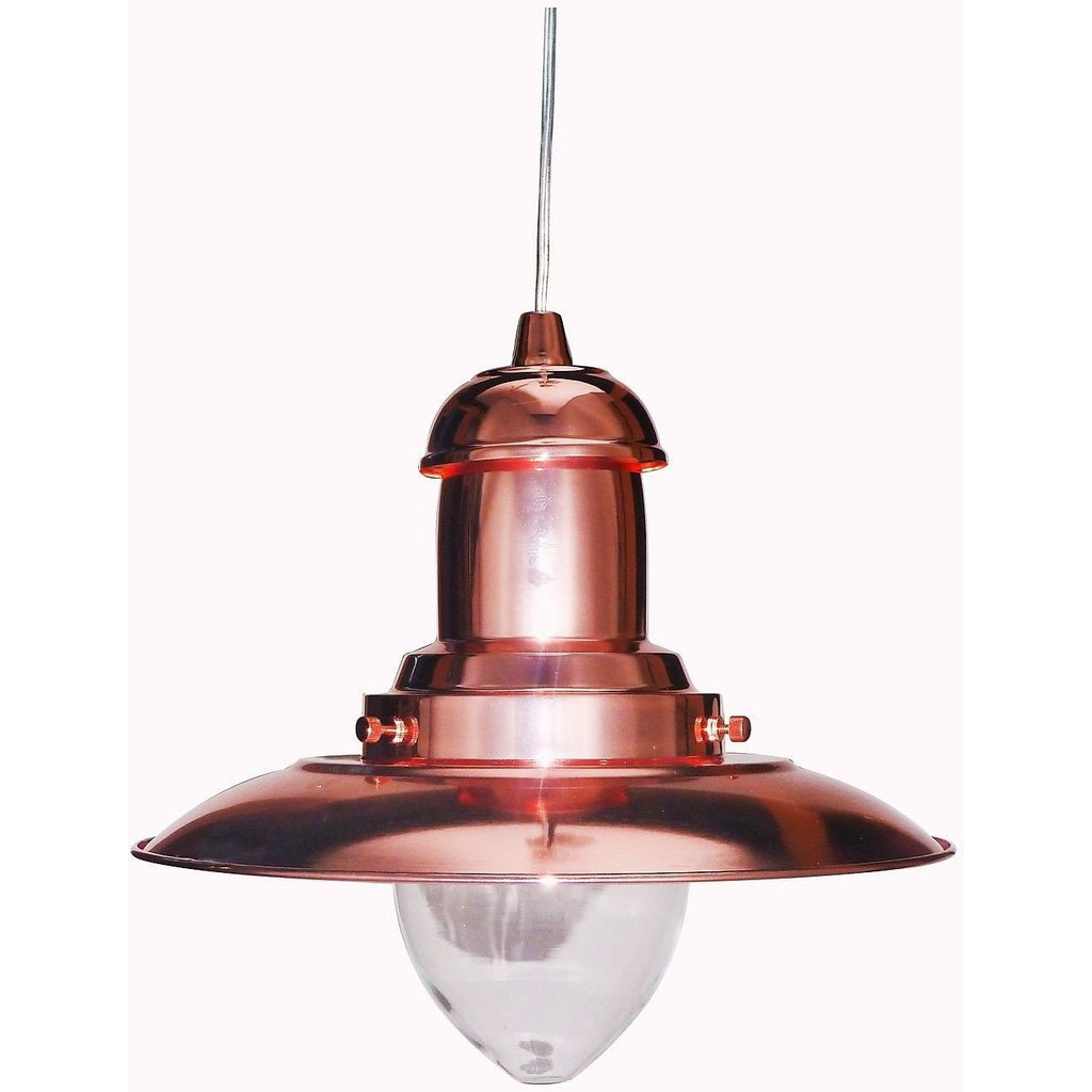 Marco Tielle Rose Gold (Pink Copper) Fisherman Lantern Style Ceiling Light, [product_variation] - Freedom Homestore