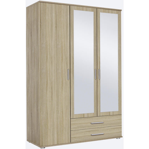Rauch 'Rasant' 3 or 4 Door Wardrobe, Sonoma Oak. German Bedroom Furniture., [product_variation] - Freedom Homestore