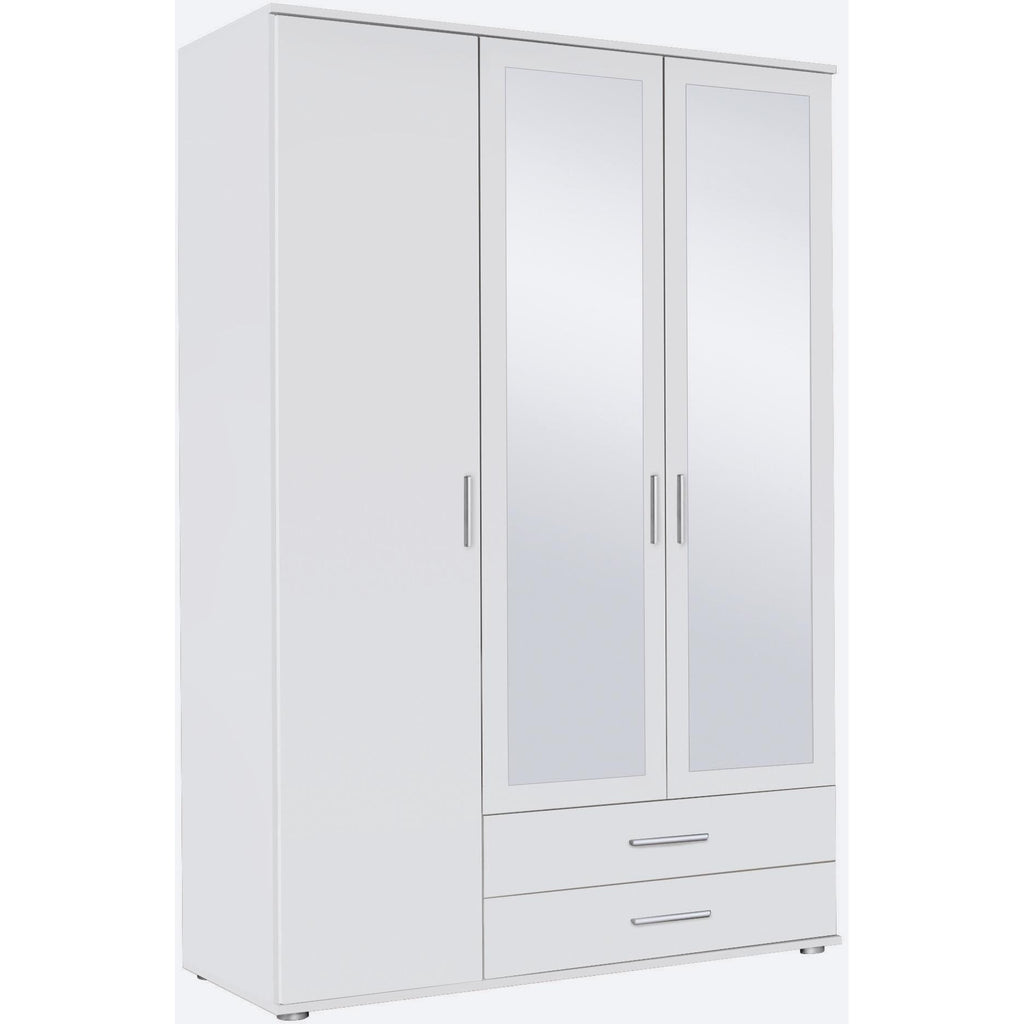 ASSEMBLY INCLUDED Rauch 'Rasant' 3 or 4 Door Wardrobe, White. German Bedroom Furniture., [product_variation] - Freedom Homestore