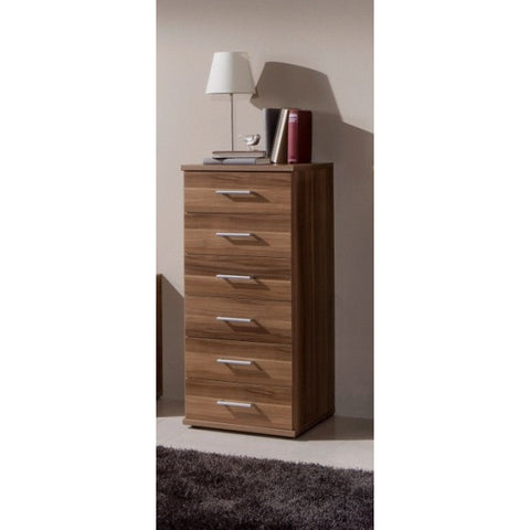 "Qmax ""Ambassador"" Drawer Chest Range. Walnut Finish., [product_variation] - Freedom Homestore"