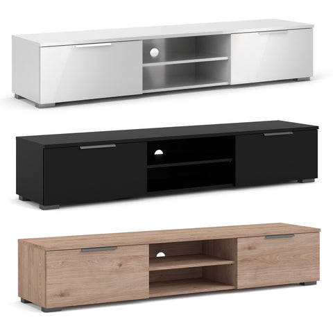 "Tvilum ""Match"" TV Stand, Entertainment Unit, Sideboard Table. Black, White or Oak."