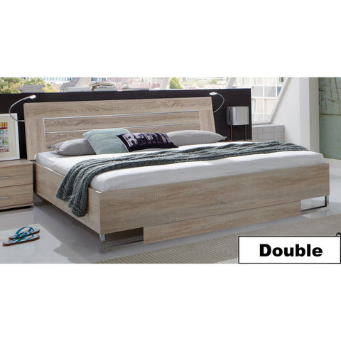ASSEMBLY INCLUDED Qmax 'Davina' German Bedroom Furniture. Light Oak., [product_variation] - Freedom Homestore