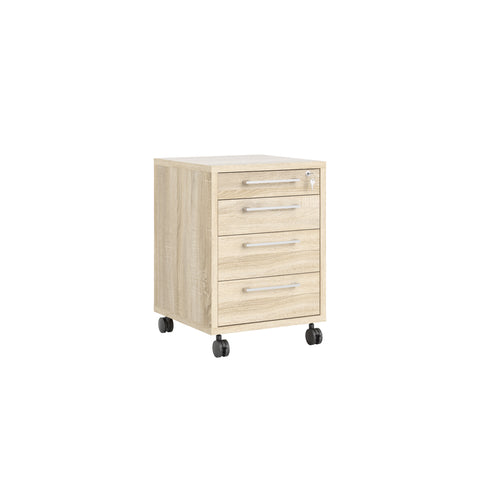 "Tvilum ""Prima"" Under-Desk / File Cabinet. Locking Drawer. Choice of Finish"