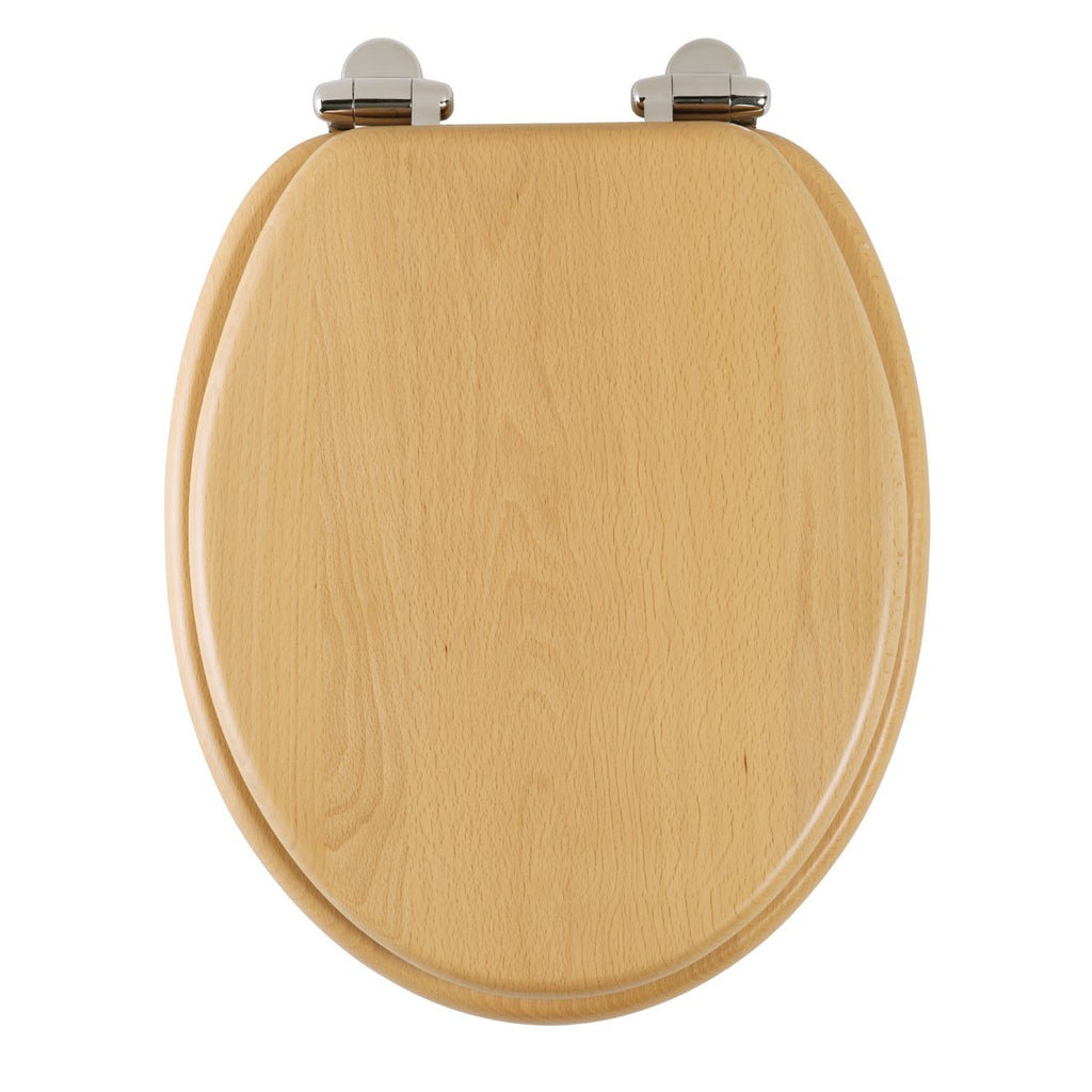 Roper Rhodes Real Beech Solid Wood Toilet Seat. Soft Close, Top Fix, Easy Clean., [product_variation] - Freedom Homestore
