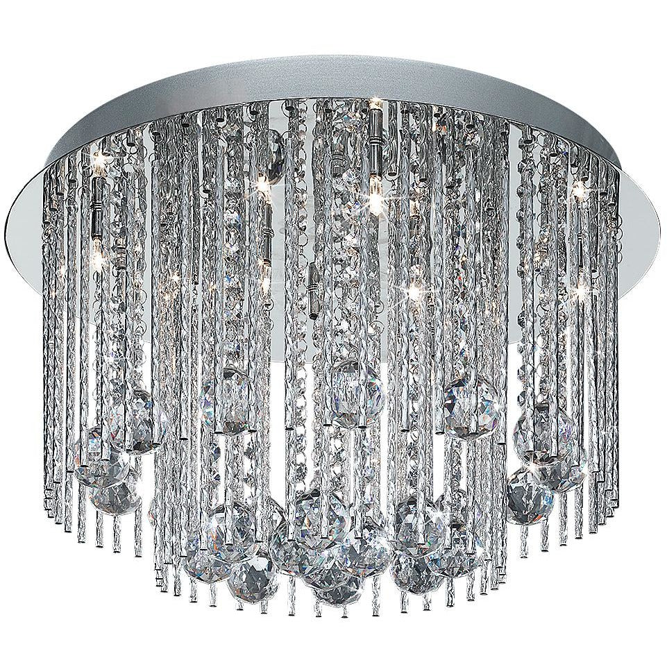 Searchlight Beatrix 8-light Crystal Chandelier Ceiling Light 8088-8cc, [product_variation] - Freedom Homestore