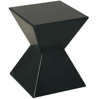Edge Funky Colourful High Gloss Lacquered Side/End Tables   Glass Optional