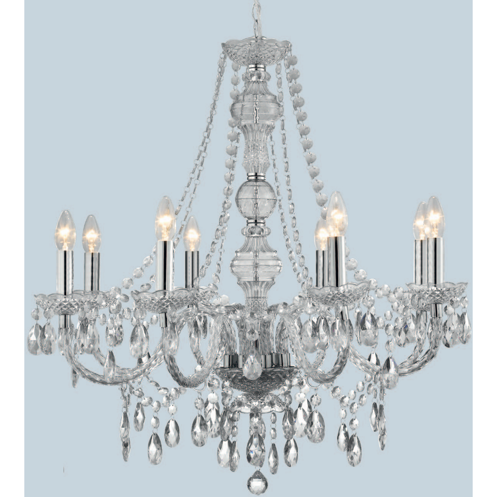 Marco Tielle 8 Light Marie Therese Chandelier 8888-8, [product_variation] - Freedom Homestore