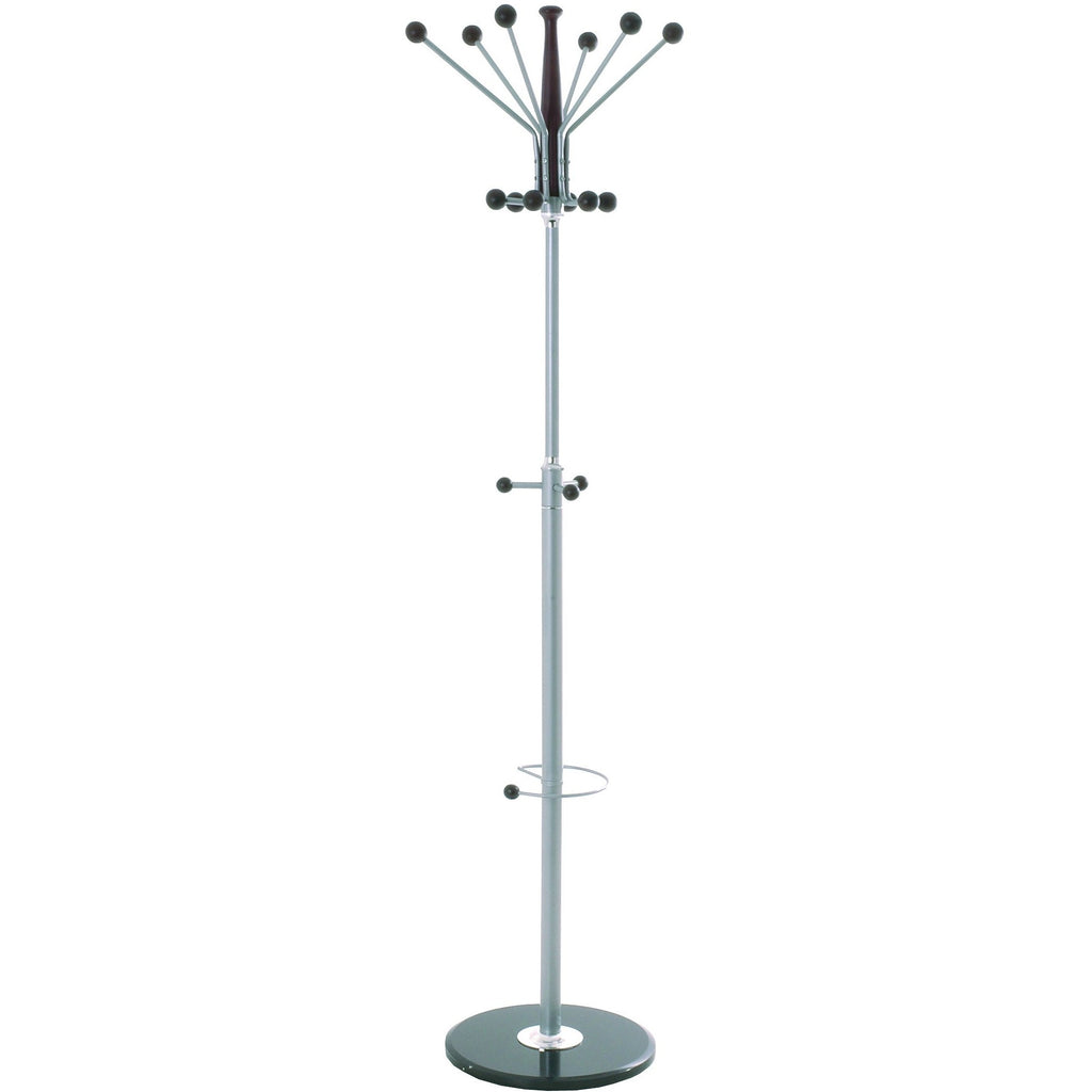 Marble Base Hall Tree Coat Stand Hat Rack Albor Percy, [product_variation] - Freedom Homestore