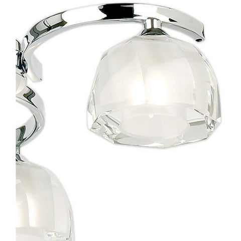 "Endon ""Stanza"" 91403 Polished Chrome & K9 Crystal Glass Ceiling Light, [product_variation] - Freedom Homestore"