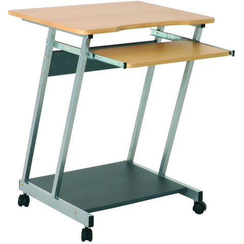 Computer Desk PC Table Trolley Z Shape 91742
