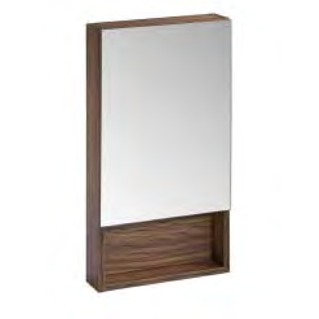 "Roper Rhodes (R2) ""Drive"" Wall Mounted Mirrored Bathroom Cabinet in Light Olive, [product_variation] - Freedom Homestore"