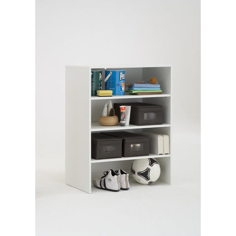 """Allround"" Flexible Shoe Cabinet / Storage System w/ 6 Canvas Boxes Included, [product_variation] - Freedom Homestore"