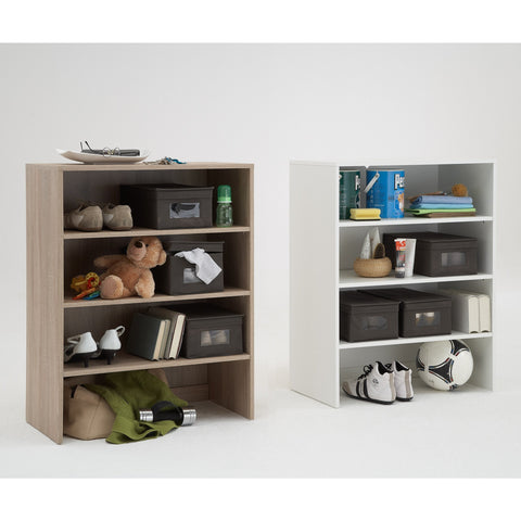 """Allround"" Flexible Shoe Cabinet / Storage System w/ 6 Canvas Boxes Included"