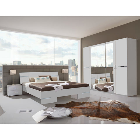 Qmax 'City' Range. German Made Bedroom Furniture. White Finish, [product_variation] - Freedom Homestore