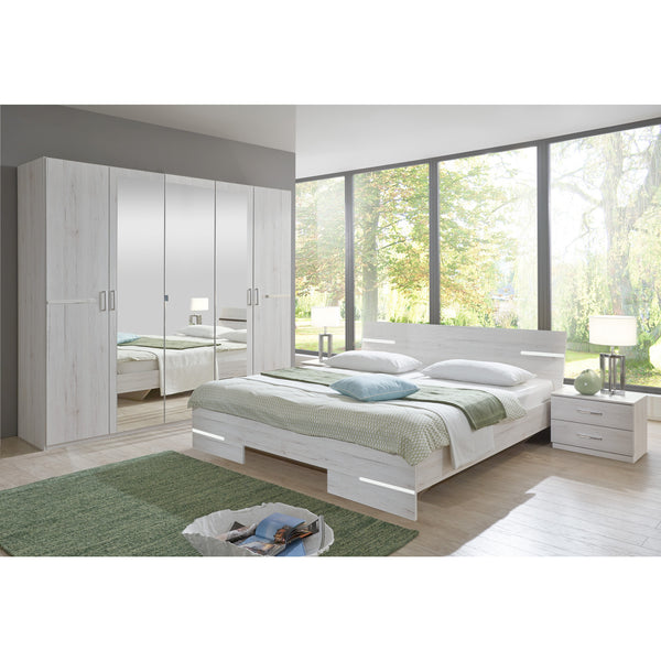 Qmax City Range German Made Bedroom Furniture White Oak