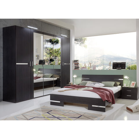 Qmax 'City' Range. German Made Bedroom Furniture. Wenge / Off-Black, [product_variation] - Freedom Homestore