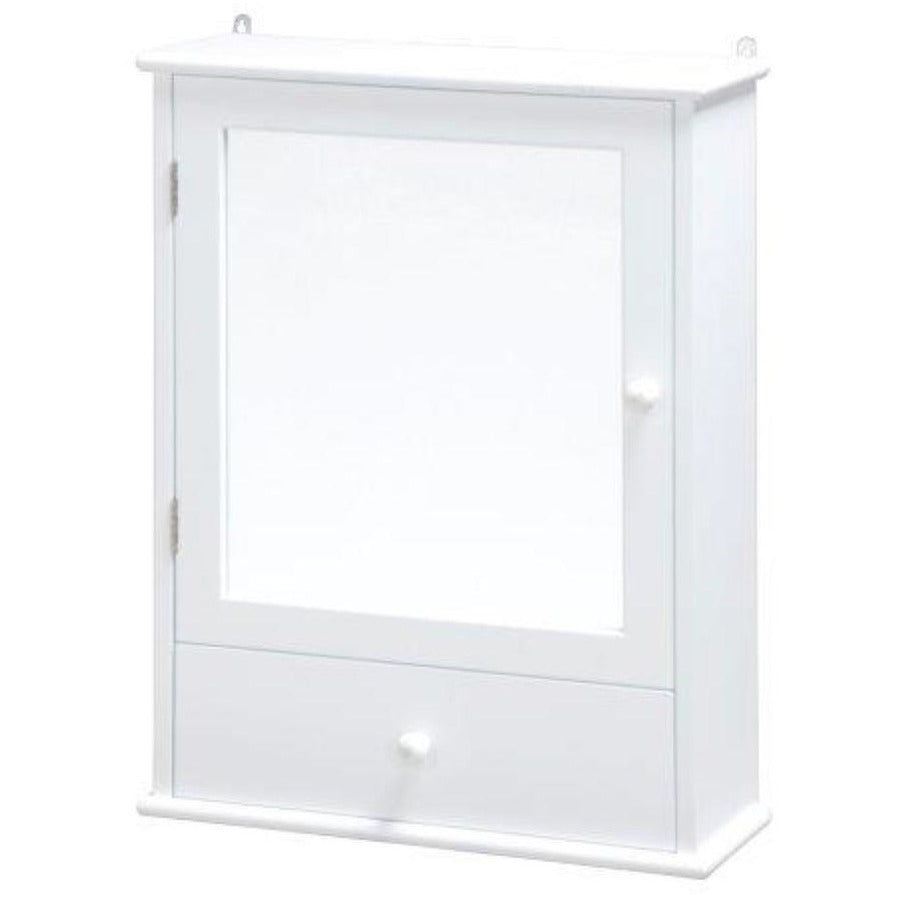 "Blue Canyon ""Nevada"" BF0407, Bathroom Mirror Cabinet w Drawer in White, [product_variation] - Freedom Homestore"