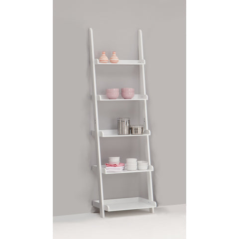 Ben Display shelving Ladder Shelf -2 Colours - 5 tier., [product_variation] - Freedom Homestore