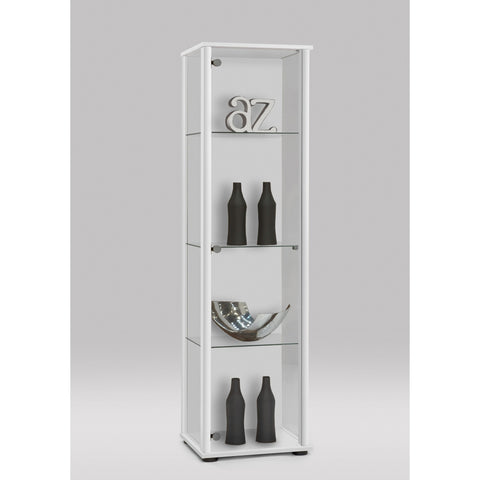 Bora Floor Standing Glass & Wood Display Cabinet,, [product_variation] - Freedom Homestore