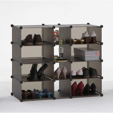 Interlocking Shoe Storage (or anything storage) Rack Stand - Box1, 2, & 3., [product_variation] - Freedom Homestore