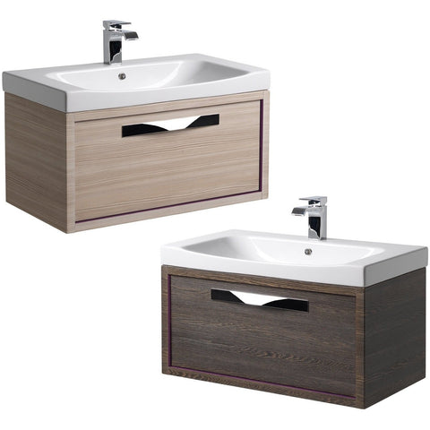 *Clearance* Roper Rhodes 'Breathe' Wall Mounted Bathroom Vanity Unit With Sink. BRE800