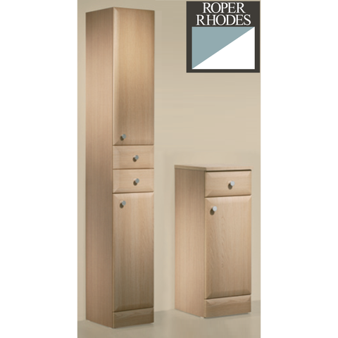 "*Clearance* Roper Rhodes ""Signatures"" Floor Standing Bathroom Cabinet. Oak"