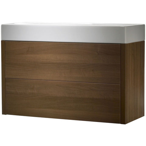 *Clearance* Roper Rhodes 'Contact' Wall Mounted Bathroom Vanity Unit With Sink. CNT900AW
