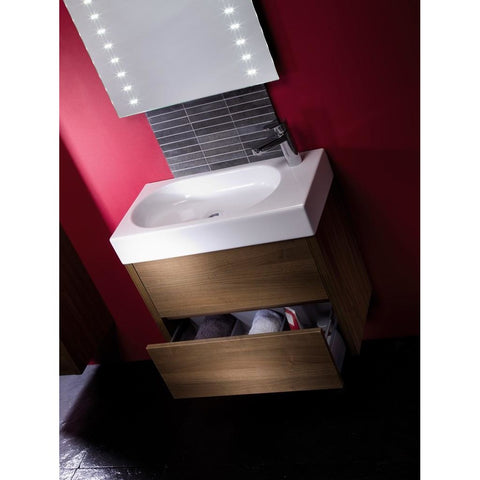 *Clearance* Roper Rhodes 'Contact' Wall Mounted Bathroom Vanity Unit With Sink. CNT900AW, [product_variation] - Freedom Homestore