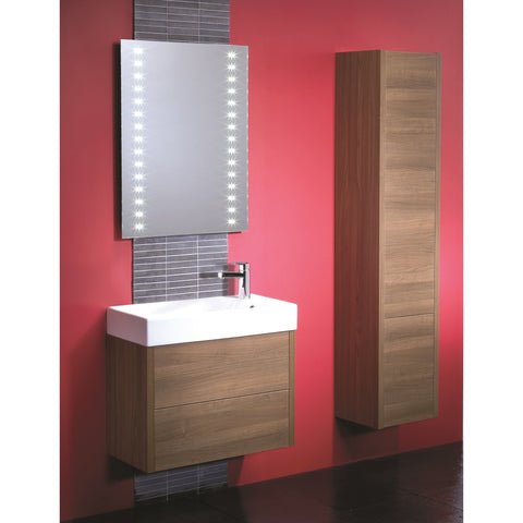 "*Clearance* Roper Rhodes ""Contact"" Wall Mounted Tall Bathroom Cabinet."