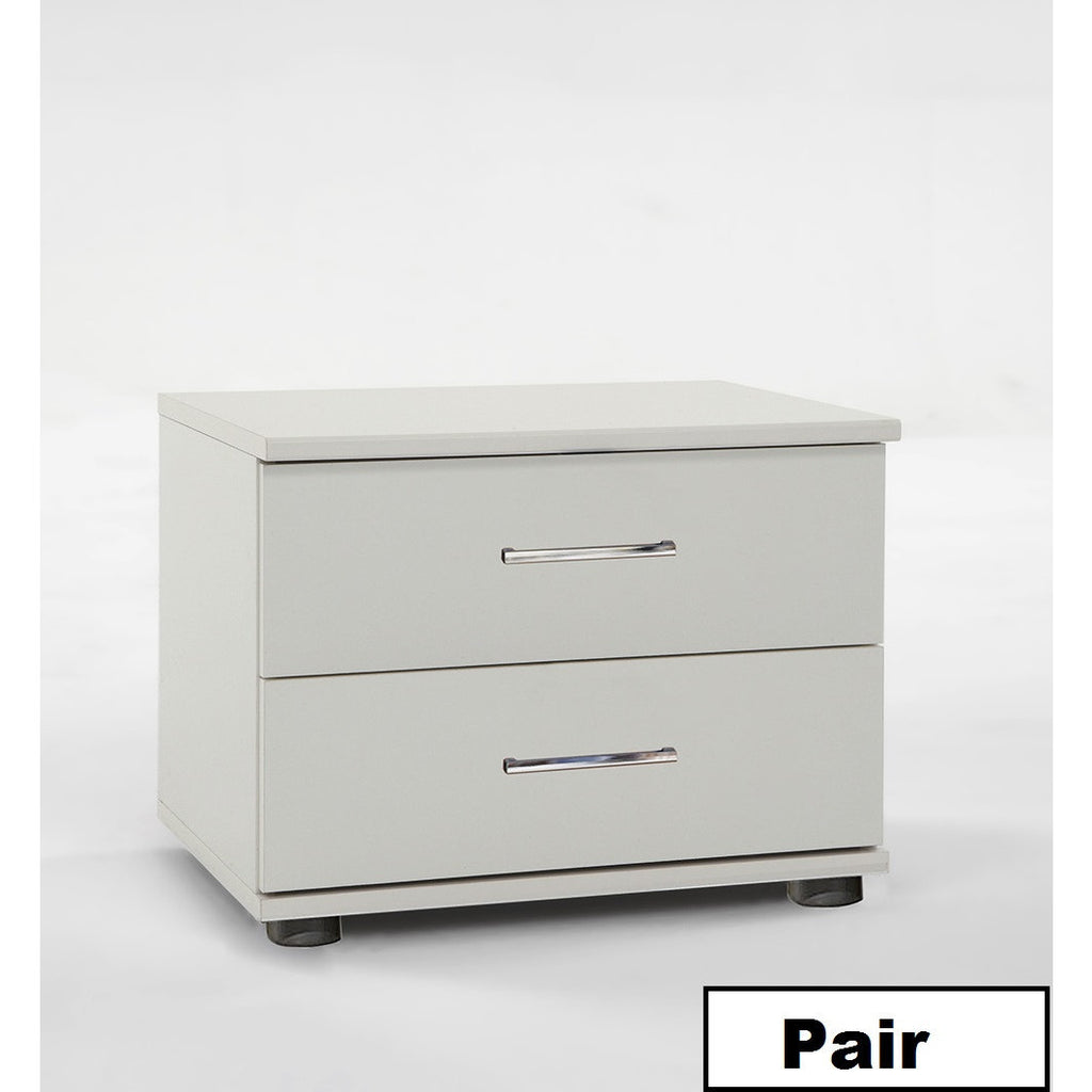 Qmax 'Davina' Range German Made Bedroom Furniture. White., [product_variation] - Freedom Homestore